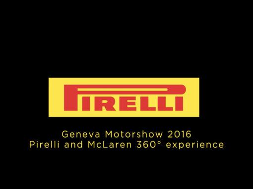 Pirelli Mc Laren – Geneve Motorshow Video 360